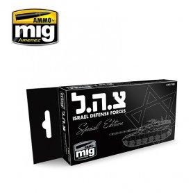 Ammo of MIG Zestaw farb Israel Defence