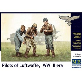 MB 3202 PILOTS OF LUFTWAFFE WWII