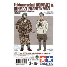 Tamiya 89629 Romel And Infantryman