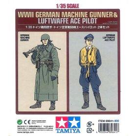 Tamiya 89641 Machine Gunner &Ace