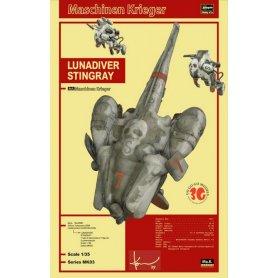 Hasegawa 64003-MK03 Lunadiver Stingray
