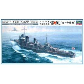 Hasegawa Z22-40022 Yukikaze 1/350