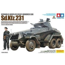 Tamiya 1:35 Sd.Kfz. 231 Heavy Armoured Carrier