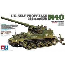 Tamiya 1:35 US Self-propelled 155mm Gun M40