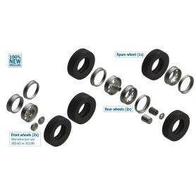 Italeri 3909 European Tractors Tyres & Rims 1/24