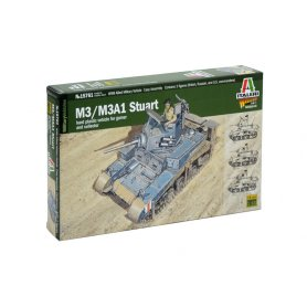 Italeri 15761 1/56 M3 Stuard Light Tank