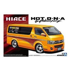 Aoshima 1:24 Toyota TRH200V Hiace HOT DNA by Hotcompany