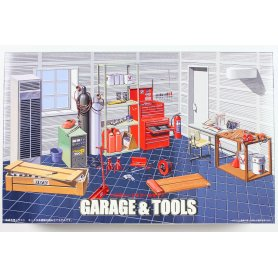 Fujimi 1:24 Garage & Tool Set
