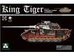 Takom 2046 SdKfz 182 King Tiger Porsche turret