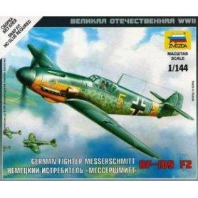 ZVEZDA 6116 MESSERSCHMIT BF-109 F-2