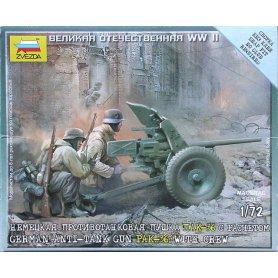 Zvezda 1:72 German anti-tank gun PaK-36