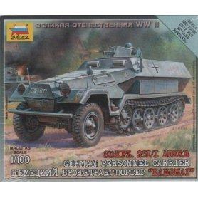 ZVEZDA 6127 SD.KFZ 251/1 AUSF.B