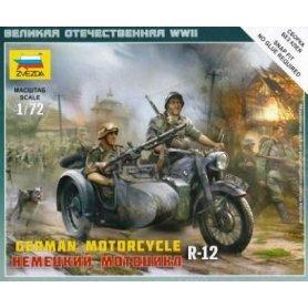ZVEZDA 6142 1/72 GER. MOTORC. R12