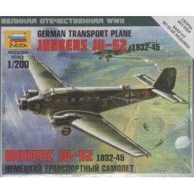 ZVEZDA 6139 JUNKERS JU-52 TRNSPORT