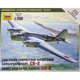 ZVEZDA 6185 SOVIRT BOMBER SB-2
