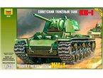 Zvezda 3539 1/35 KV-1 Soviet Heavy Tank
