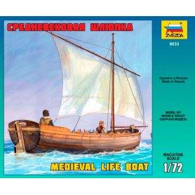 Zvezda 9033 Medieval Life Boat 1/72