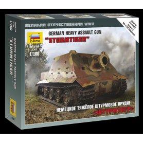 Zvezda 1:100 German Heavy Assault Gun Sturmtiger