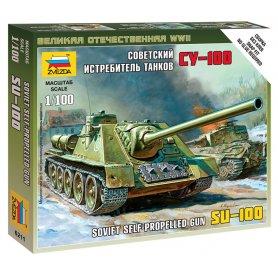 Zvezda 6211 Self-Propeled Gun Su-100