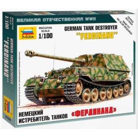 Zvezda 6195 1/100 Sd.Kfz 184 Ferdinand