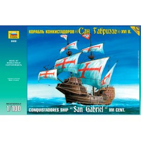 ZVEZDA 9008 CONQUIST.SHIP XVI 1/100