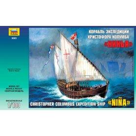 ZVEZDA 9005 CARAVEL NINA      1/100