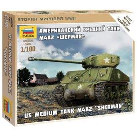 Zvezda 6263 1:100 Sherman