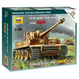 Zvezda 6256 1/100 Tiger I