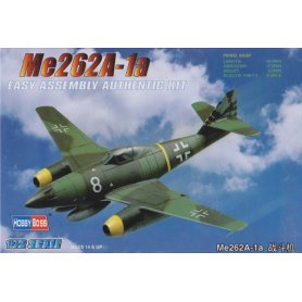Hobby Boss 1:72 Messerschmitt Me-262 A-1a | Easy Assembly |