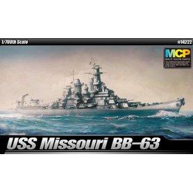 Academy 14222 USS Missouri 1/700