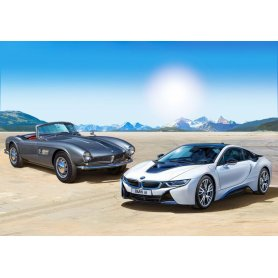 Revell 1:24 BMW 507 and BMW i8 Gift-Set 100 / YEARS OF BMW