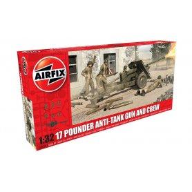 Airfix 06361 17 Pdr Anti-Tank Gun 1/32
