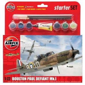 Airfix 1:72 Boulton Paul Defiant Mk.I | Starter Set | w/paints |