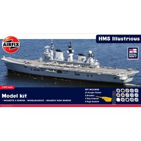 AIRFIX 50059 HMS ILLUSTRIOUS SET