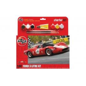Airfix 1:32 Ford 3 Litre GT - STARTER SET - z farbami