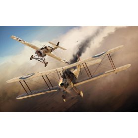 Airfix 1:72 Fokker E.II and BE2C Dogfight | 2in1 |
