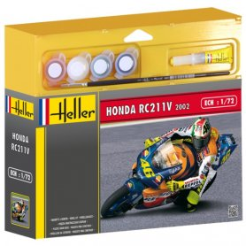 Heller 1:24 Honda RC211V 4-Strokes - w/paints