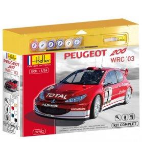 Heller 50752 Peugeot 206 1/24   S-6