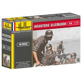 Heller 49605 German Infantry S-1