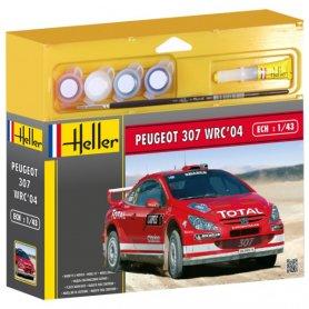 HELLER 50115 307 WRC 1/43 S-3