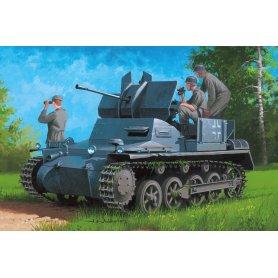 Hobby Boss 80147 Flakpanzer IA 2/Ammo Trailer