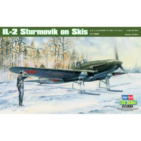 HOBBY BOSS 83202 1/32. IL-2 Sturmovik on Skis