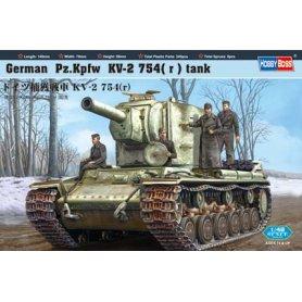 HOBBY BOSS 84819 1/48 German  Pz.Kpfw  KV-2  754(
