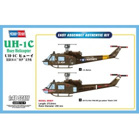 HOBBY BOSS 85803 1/48  UH-1C Huey Helicopter