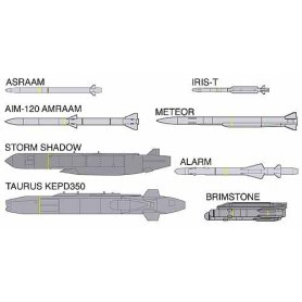 Hasegawa X72-15 - 35015 Europe Aircraft Weapons