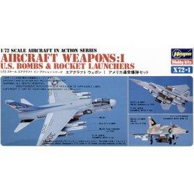 Hasegawa X72-1 - 35001 U.S.Aircraft Weapons I