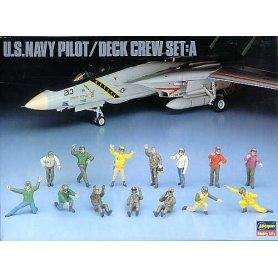 Hasegawa X48-6 - 36006 U.S. Navy Pilot Deck Crew A