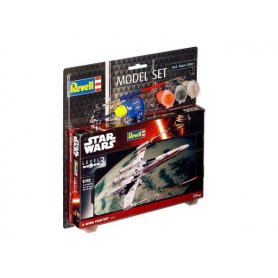 Revell 1:112 STAR WARS X-Wings Fighter - MODEL SET - z farbami
