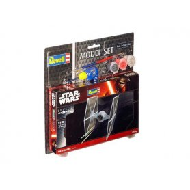 Revell 1:110 Tie Fighter STAR WARS - MODEL SET - z farbami