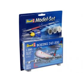 REVELL 64210 MODEL SET BOENING 747